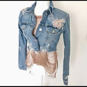 Jackets & Blazers - Beautiful Drop Top Crop Jacket
